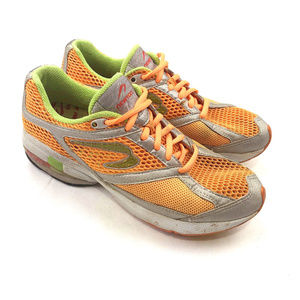 Newton Terra Momentum Running Orange Lime Women